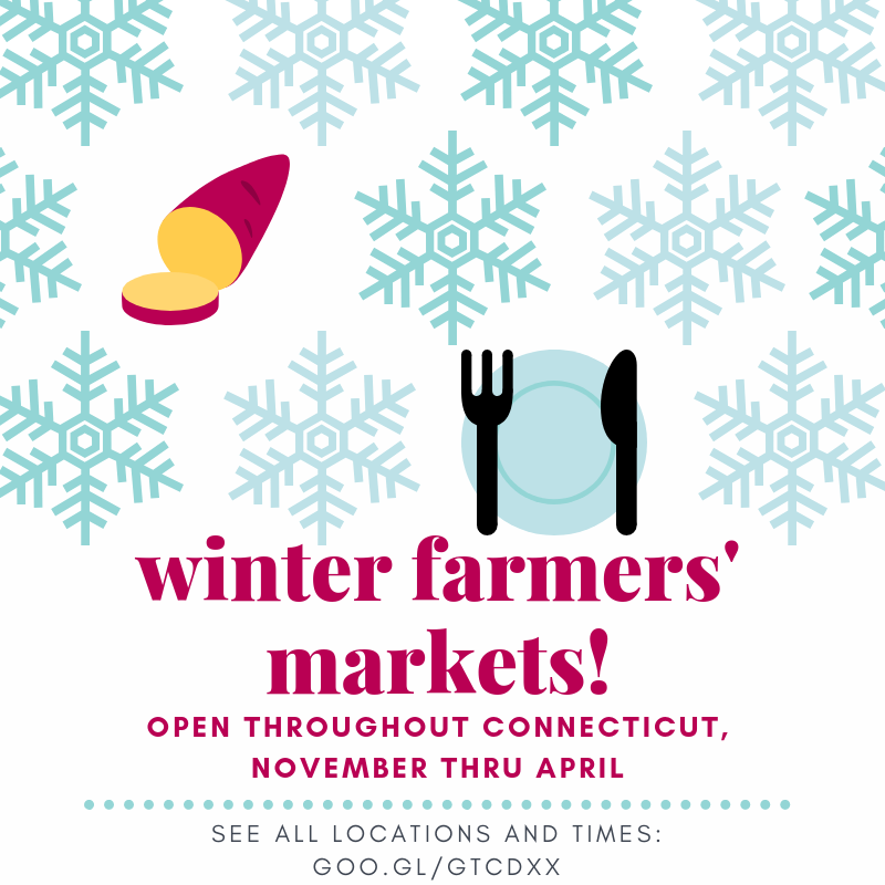 winter farmers' markets!